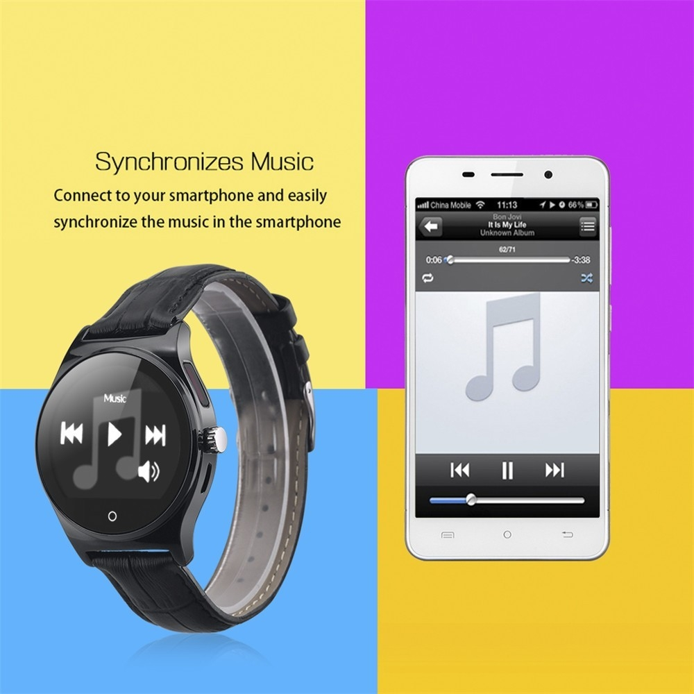 Hot RWATCH R11 Smart Watch Infrared Remote Controller Heart Rate Calls SMS Sedentary Reminder BT Music Pedometer for Android IOS19