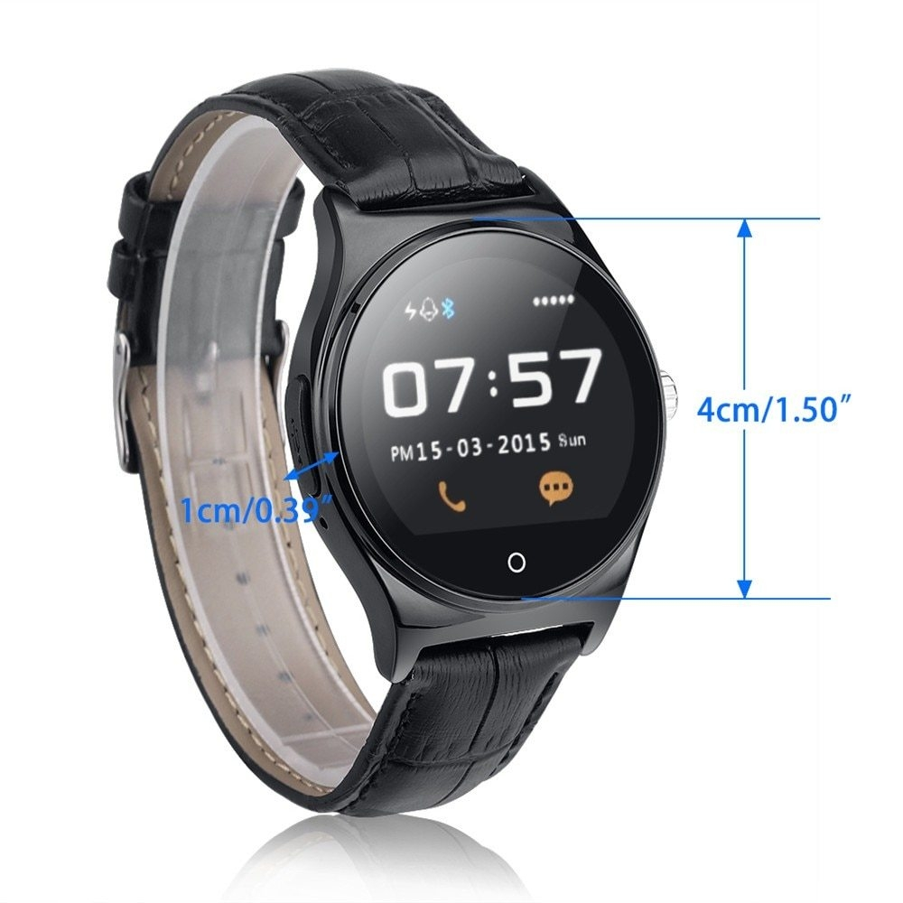 Hot RWATCH R11 Smart Watch Infrared Remote Controller Heart Rate Calls SMS Sedentary Reminder BT Music Pedometer for Android IOS9