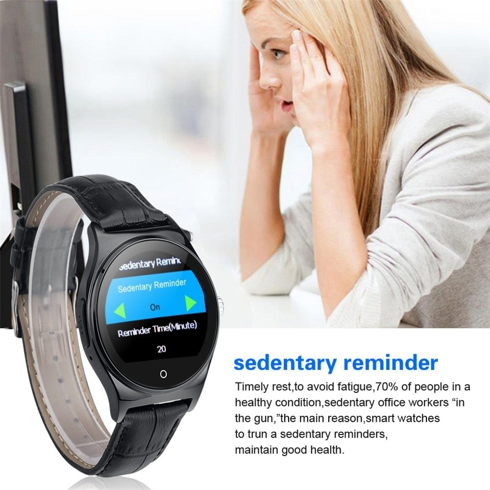Hot RWATCH R11 Smart Watch Infrared Remote Controller Heart Rate Calls SMS Sedentary Reminder BT Music Pedometer for Android IOS27