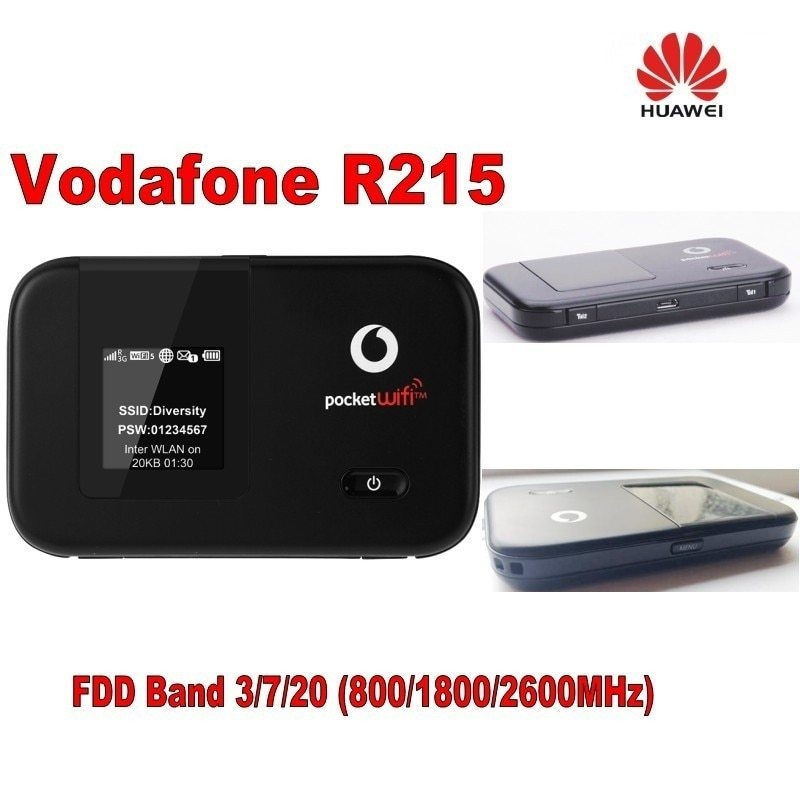Generic Vodafone R215 WIFI Hotspot 150Mbps LTE Mobile WiFi