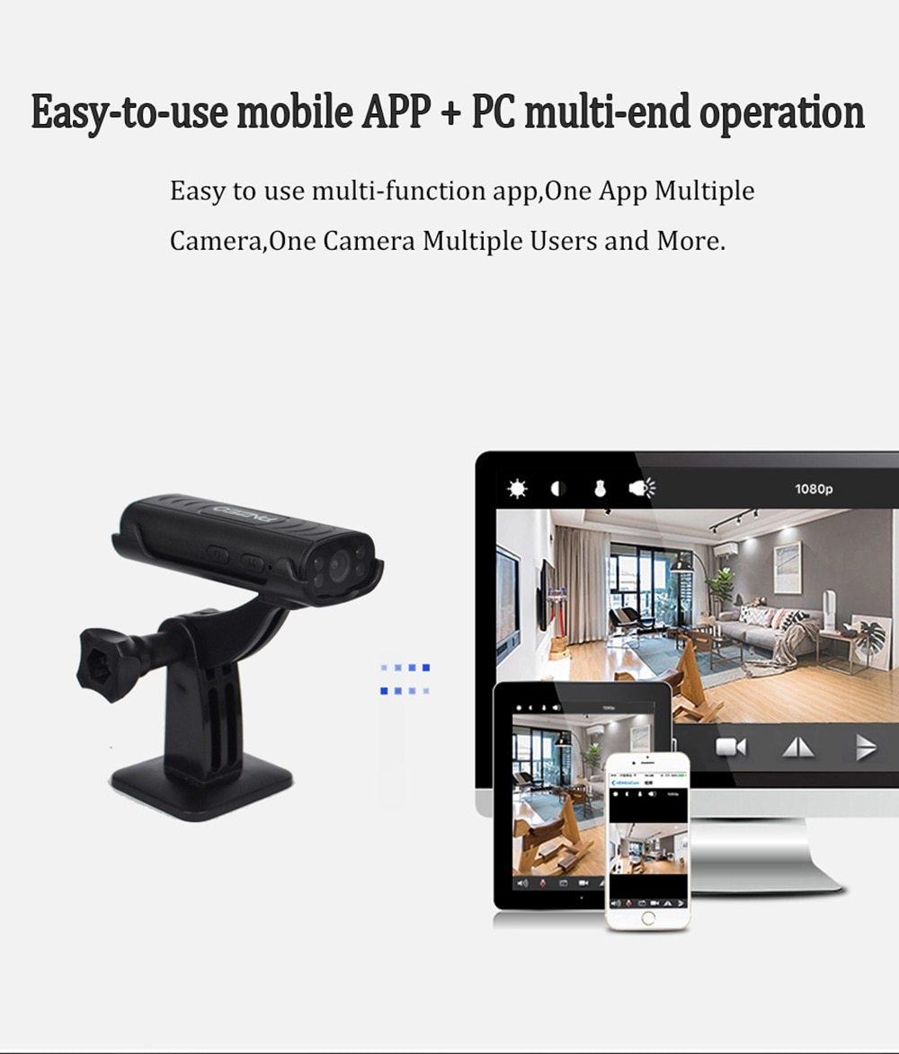 Generic PNZEO Mini Cameras Portable Home Security Cameras