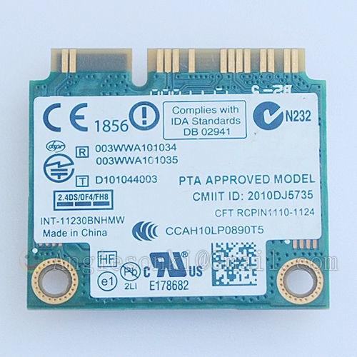 Generic 11230BNHMW Wifi+BT Wireless Card PCI-E 300Mbps 2 4 GHz 7KGX9