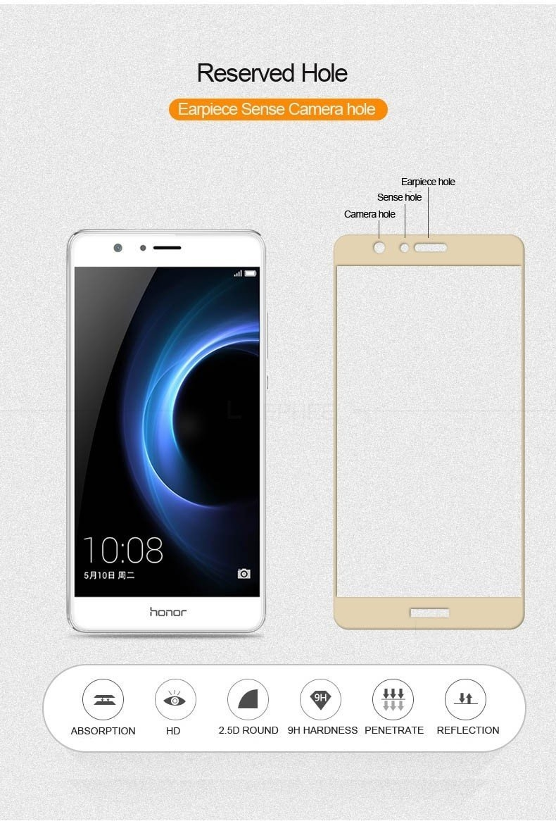 For Huawei Honor V8 Tempered Glass (1)