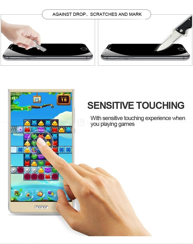 For Huawei Honor V8 Tempered Glass (9)