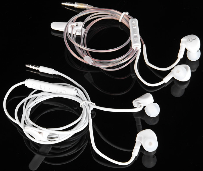 Professional In-ear Headset Perfect Sound Quality Earphone Round Wire Good Sound Insulation