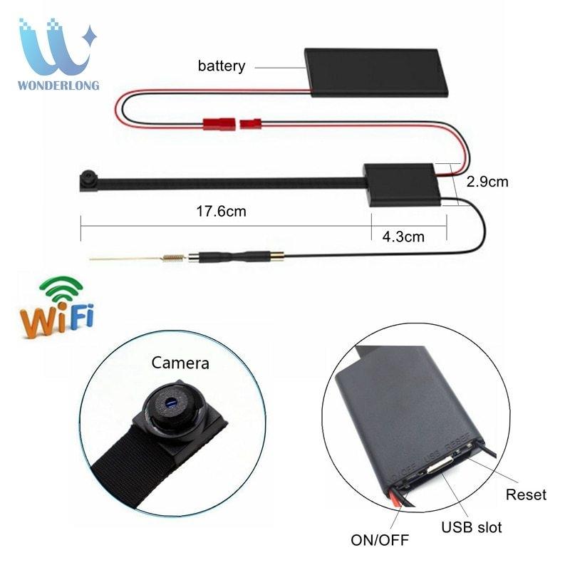 Generic 4K HD1080P Wireless WiFi IP CCTV Mini DIY Module