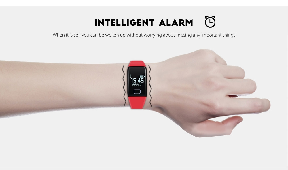 T1 Sport Tracker Pedometer Message Push Smart Bracelet