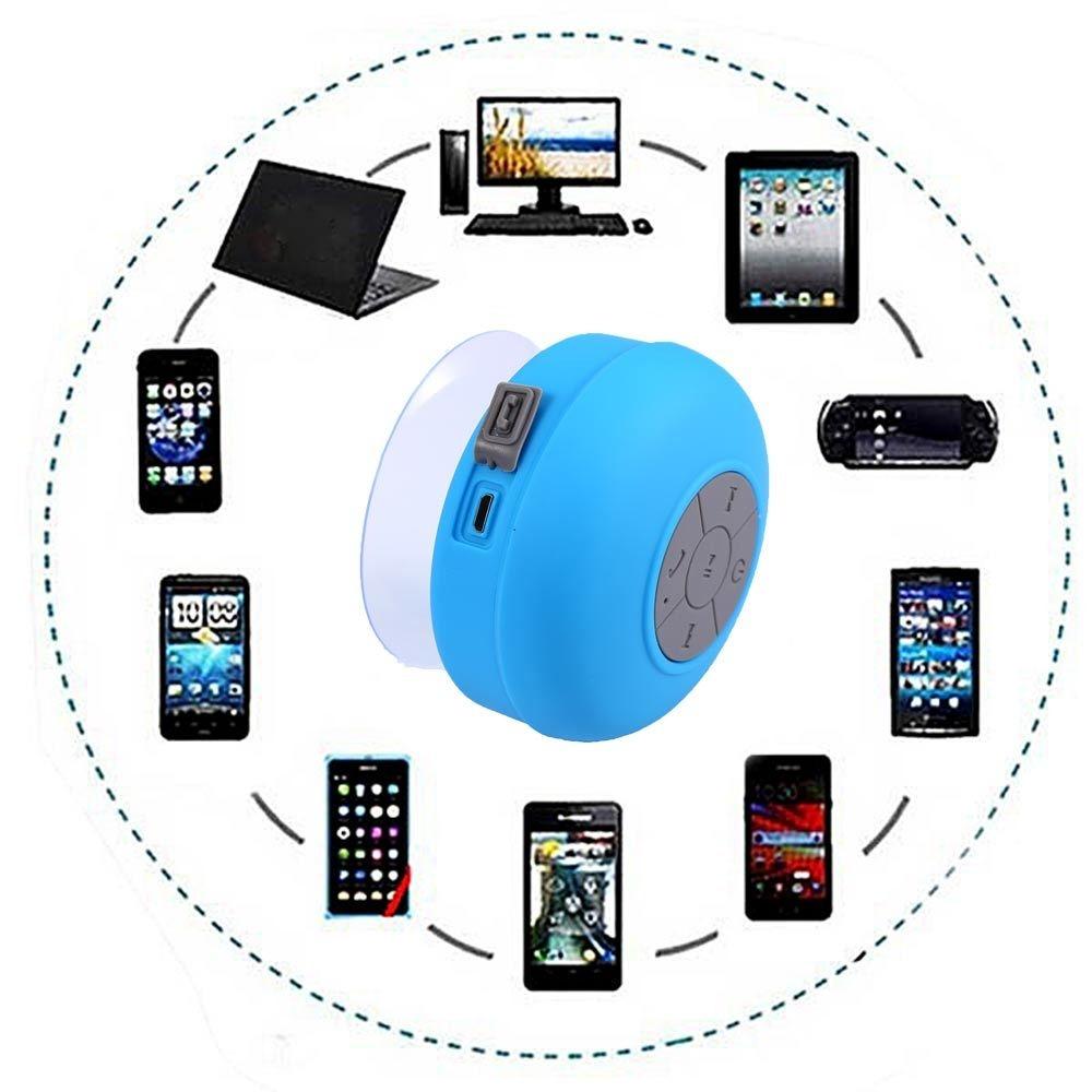 Buy Generic Bts 06 Bluetooth Speaker Waterproof Shower Pink Original Image