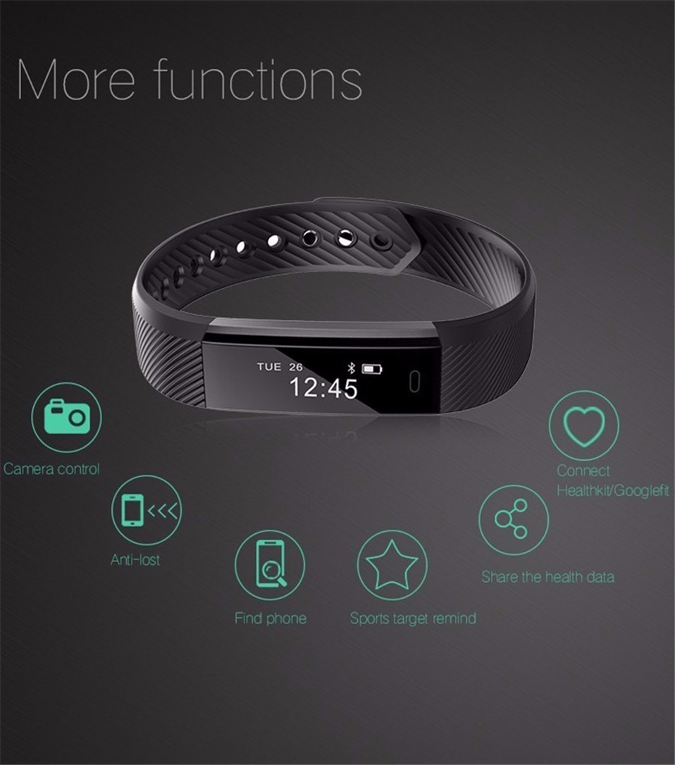 ID115 Smart wristband (8)