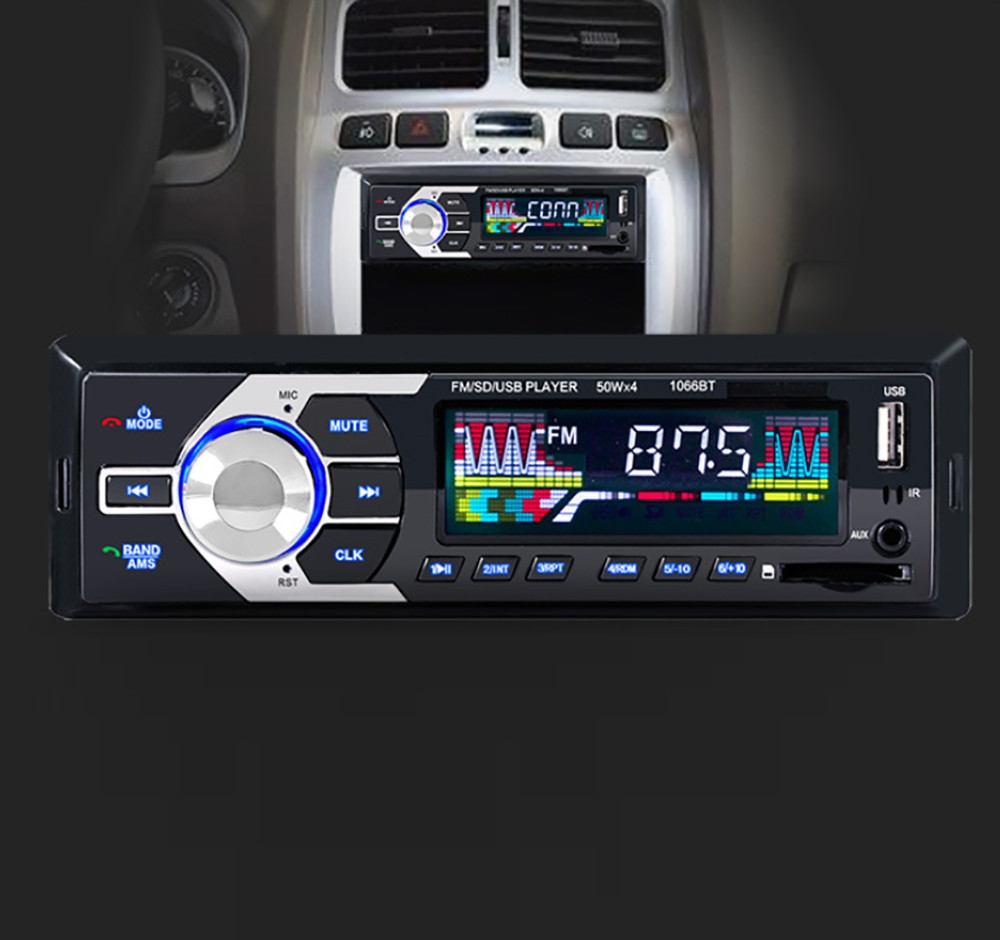 Buy Generic Africanmalldn Store Car In Dash Bluetooth Stereo Audio Automobile Interior Lights Fader Image