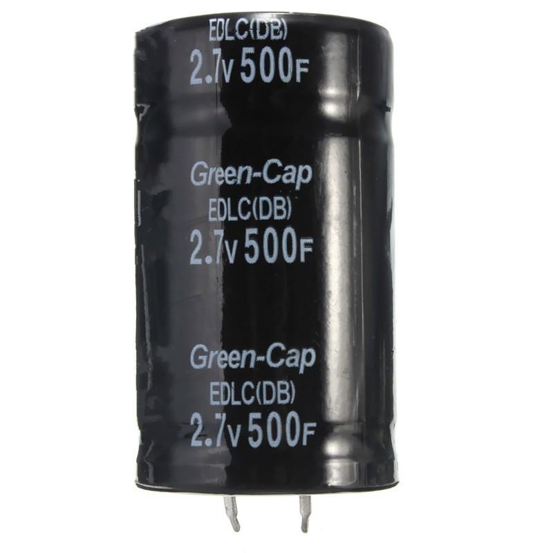 Generic 1PC Farad Capacitor 2 7V 500F 35*60MM Super