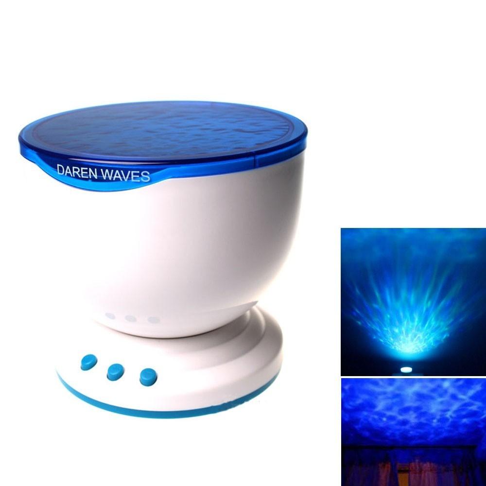 Generic 2018 new Blue Sea Wave Projector light Lamp & Mini