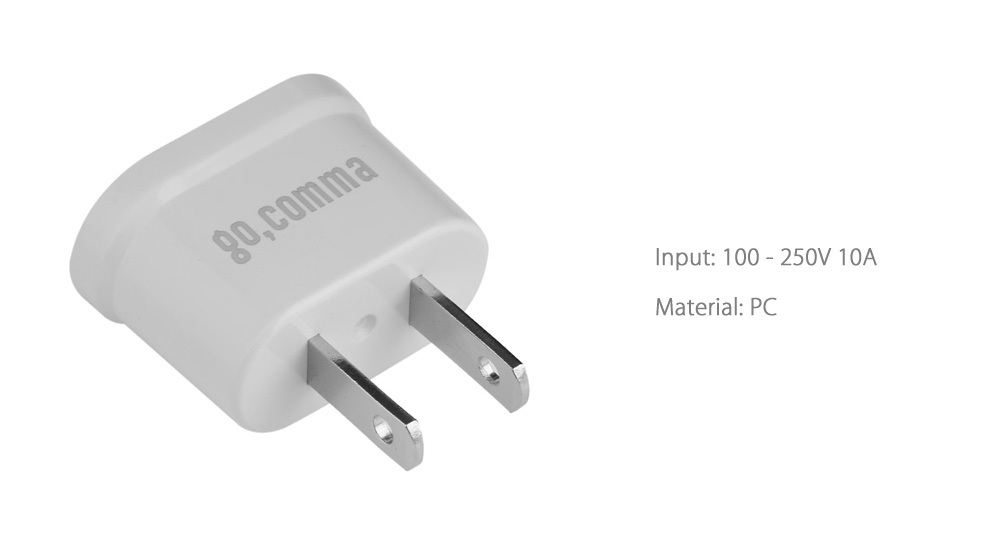 Generic Gocomma WN - 20 Two-feeted Power Adapter Connector