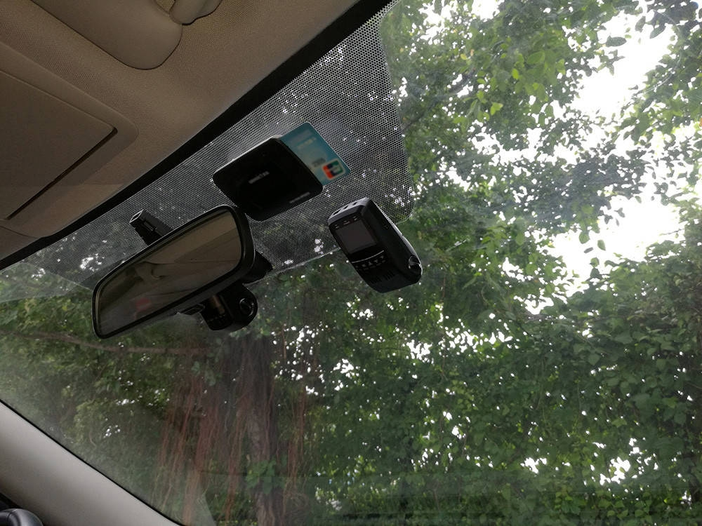 B40D ( A118C Upgrade Version ) 1080P Full HD 170 Degree Wide Angle Dual Lens Car DVR Super Capacitor Video Recorder Novatek 96655 + Aptina AR0330 + Rear View Camera