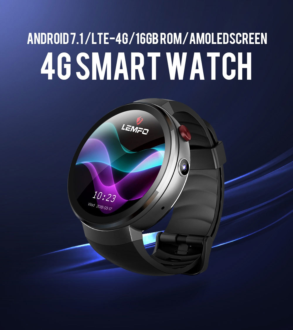 Generic LEMFO LEM7 Smart Watch Android 7 1 Smartwatch LTE 4G