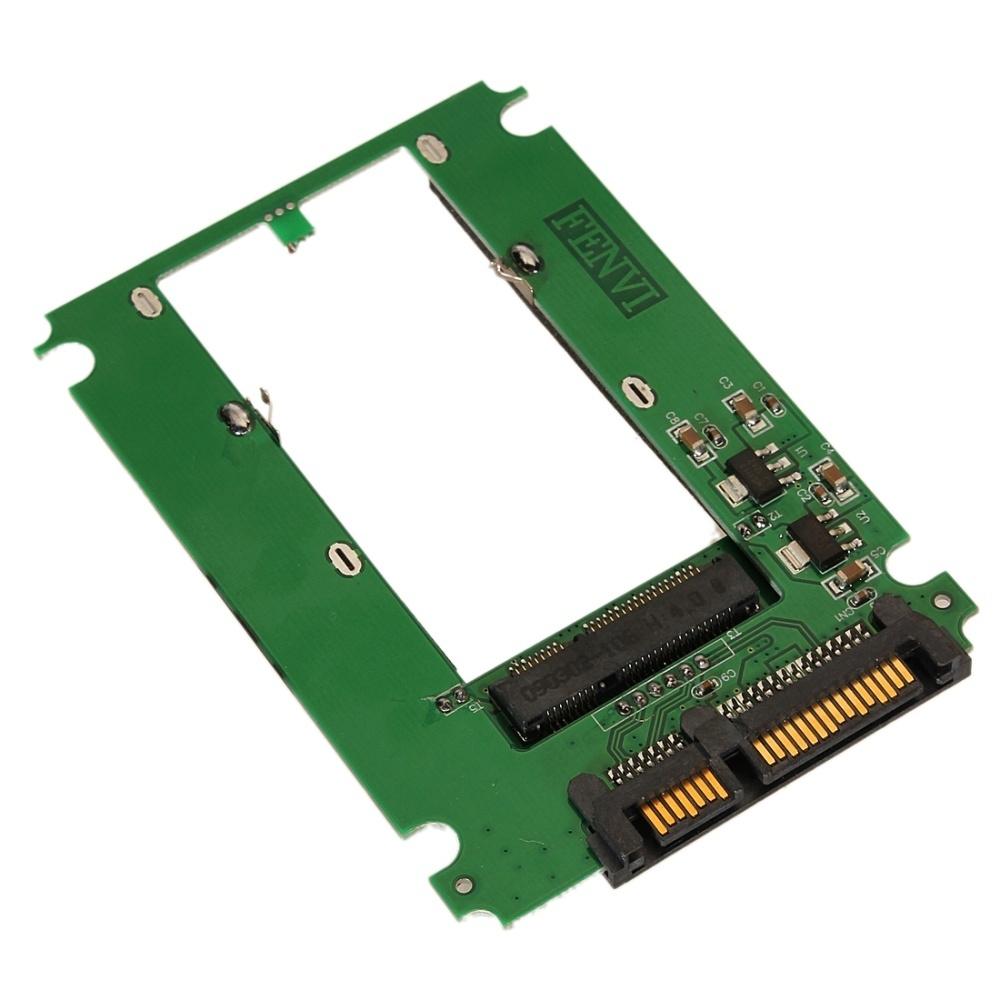 Buy Generic Msata Mini Pci E Ssd To 25 Sata 22 Pin Converter Adapter Card Image