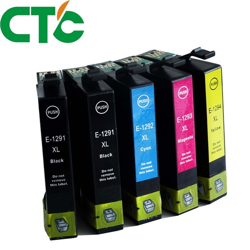 Generic 5 Pack T1291 Compatible Ink Cartridge for INK Stylus SX230