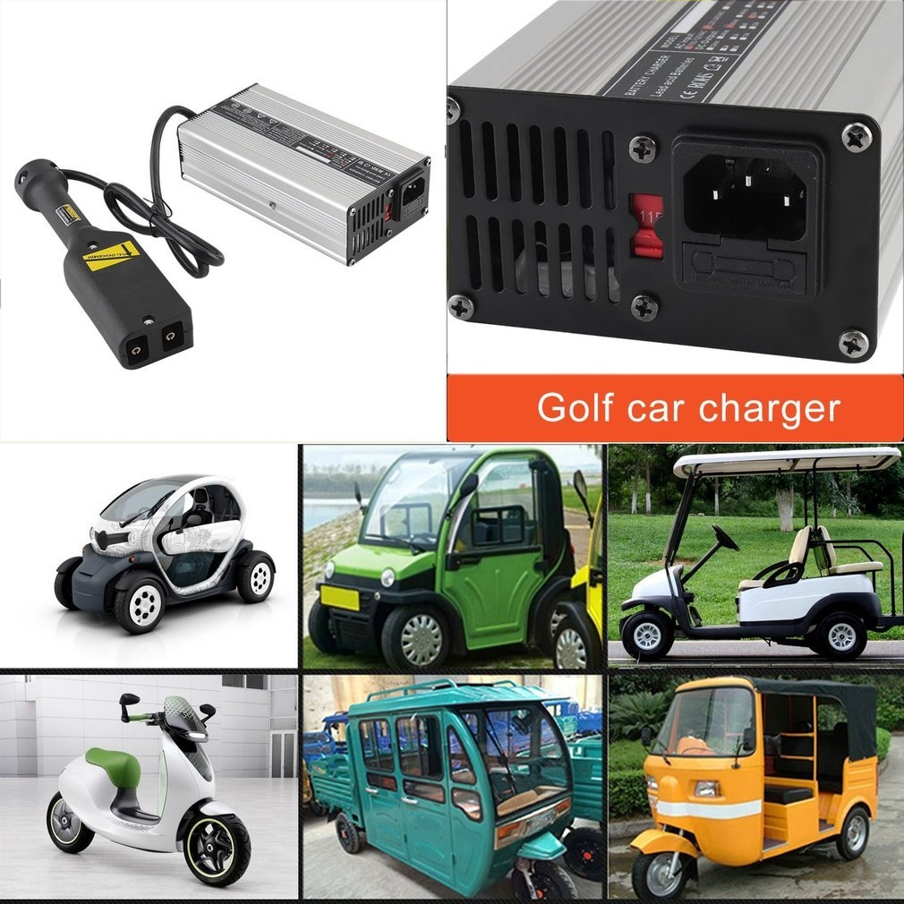 Buy Generic 36V 5A Battery Charger For Golf Cart Electric Motorcycle on golf cart batteries, golf cart not working, golf cart alternator, golf cart charging, golf cart charger, golf cart scooter,