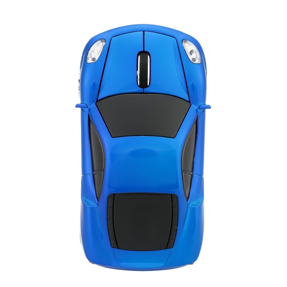 Generic 2 4GHz Wireless Racing Car Shaped Optical USB Mouse