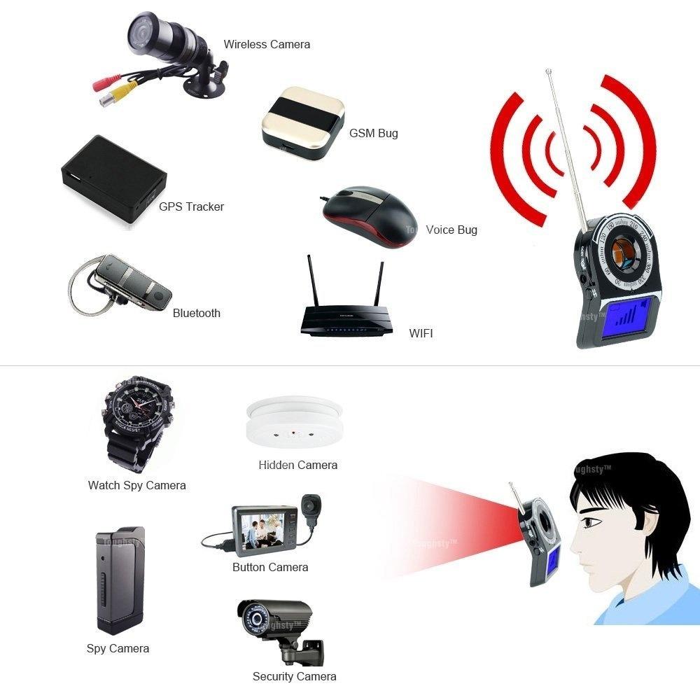 Generic Anti-Spy Hidden Camera Wireless RF Signal Detector GSM Voice