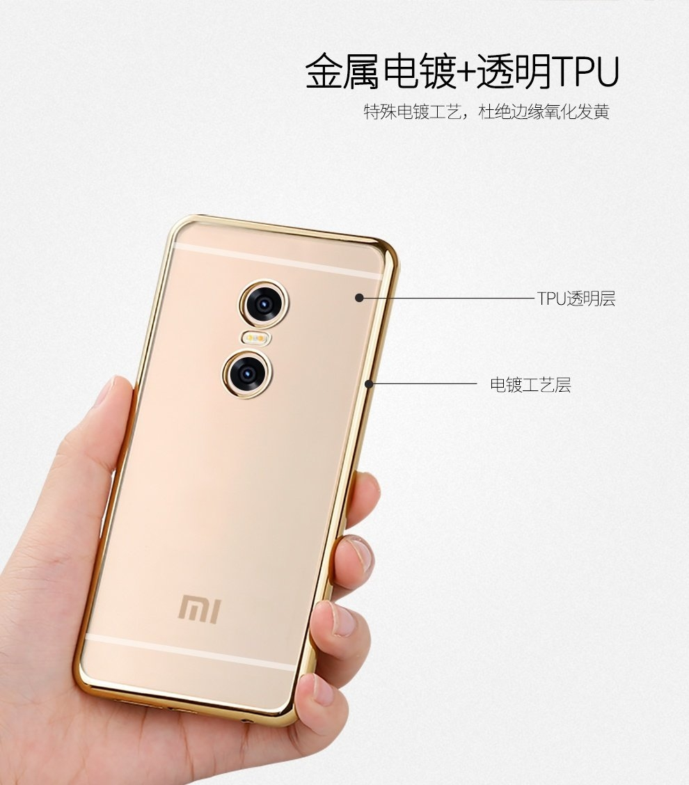Buy Generic Phone Bag Housing Back Cover For Xiaomi Redmi Pro 55 Gold Feature Ultra Slim Case Clear