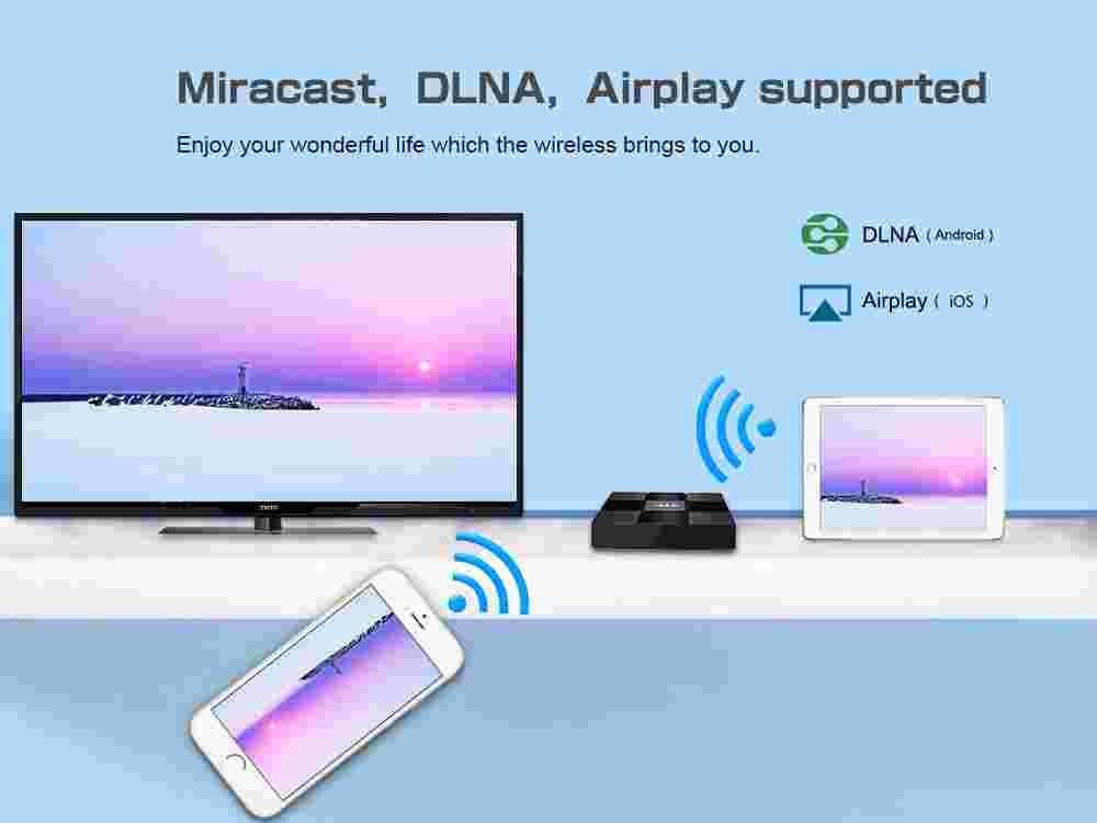 Z66X Z2 TV Box ZX296716 Quad-core Android 7.1 2.4G WiFi 100M RJ45