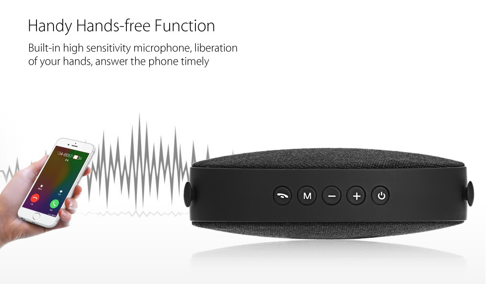 AIBIMY MY551BT Portable Hands-free Bluetooth Speaker