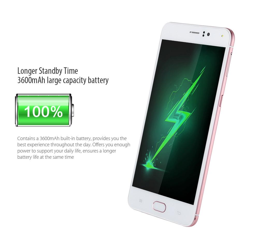 AMIGOO R9 Max Android 5.1 6.0 inch 3G Phablet MTK6580 1.3GHz Quad Core 1GB RAM 8GB ROM Dual Cameras Smart Wake