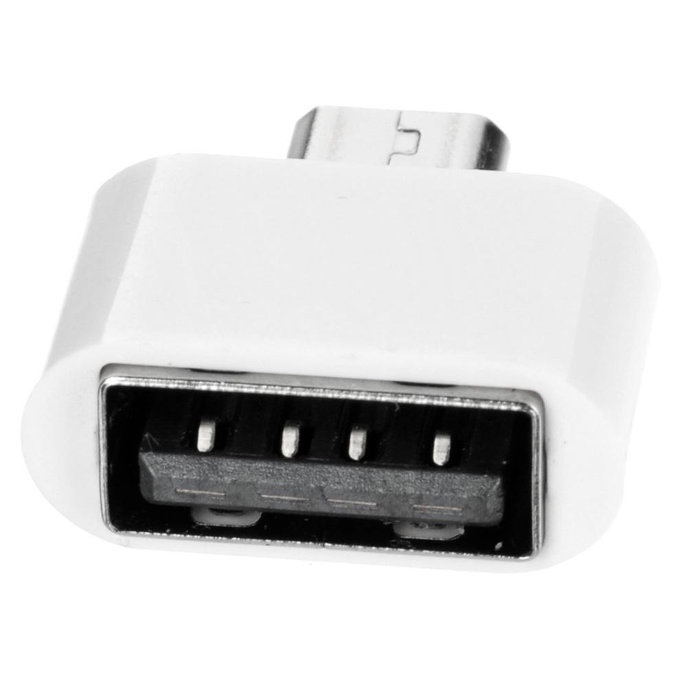 Mini Micro USB Male To USB 2.0 Female OTG Adapter