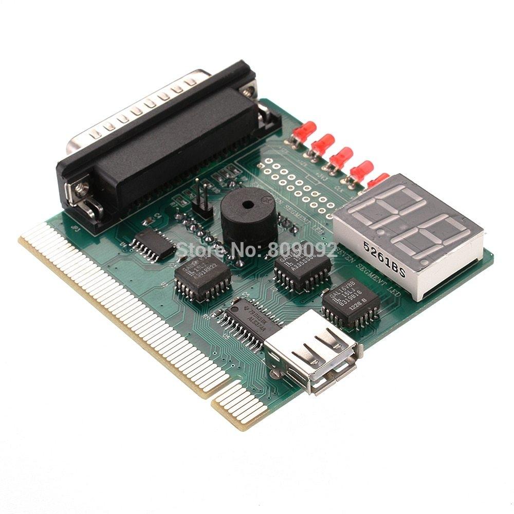 Generic 2 Digit Bit PC Computer Motherboard Diagnostic Card
