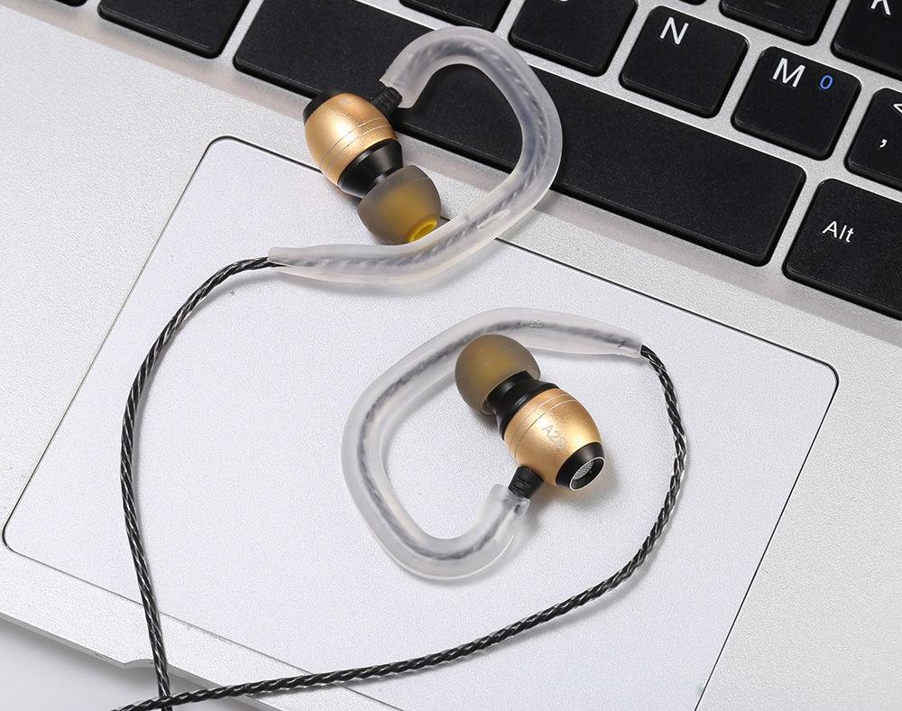 LZ - A2s HiFi Music Dynamic In-ear Earphones Mic Song Switch