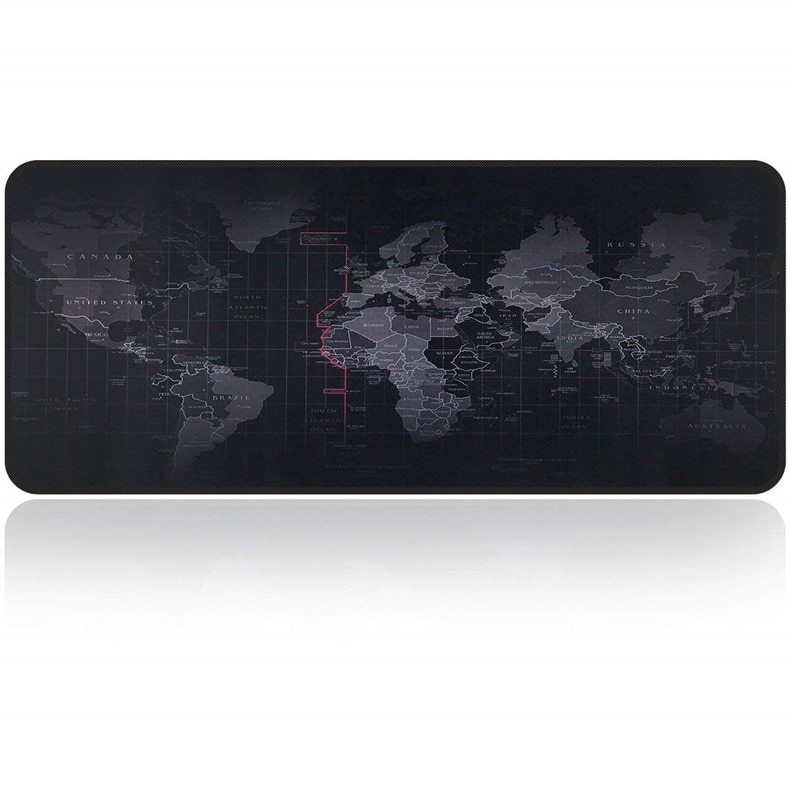695bd569890 Generic Old World Map Large Gaming Mouse Pad Lockedge Mouse Mat ...