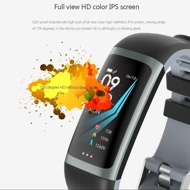 Generic G26 Color Screen Bluetooth Smart Bracelet IP67