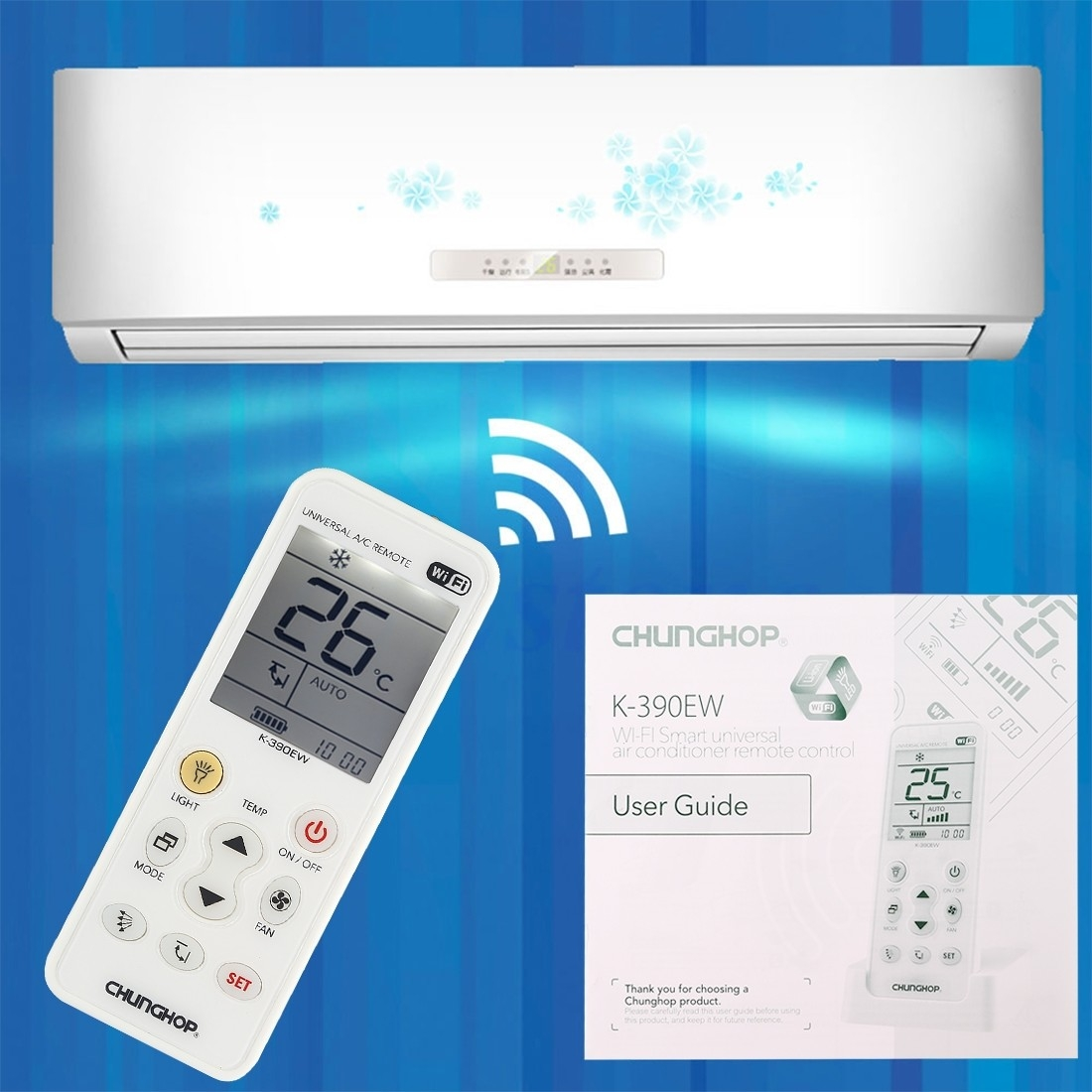 Generic CHUNGHOP K-390EW WiFi Smart Universal Air
