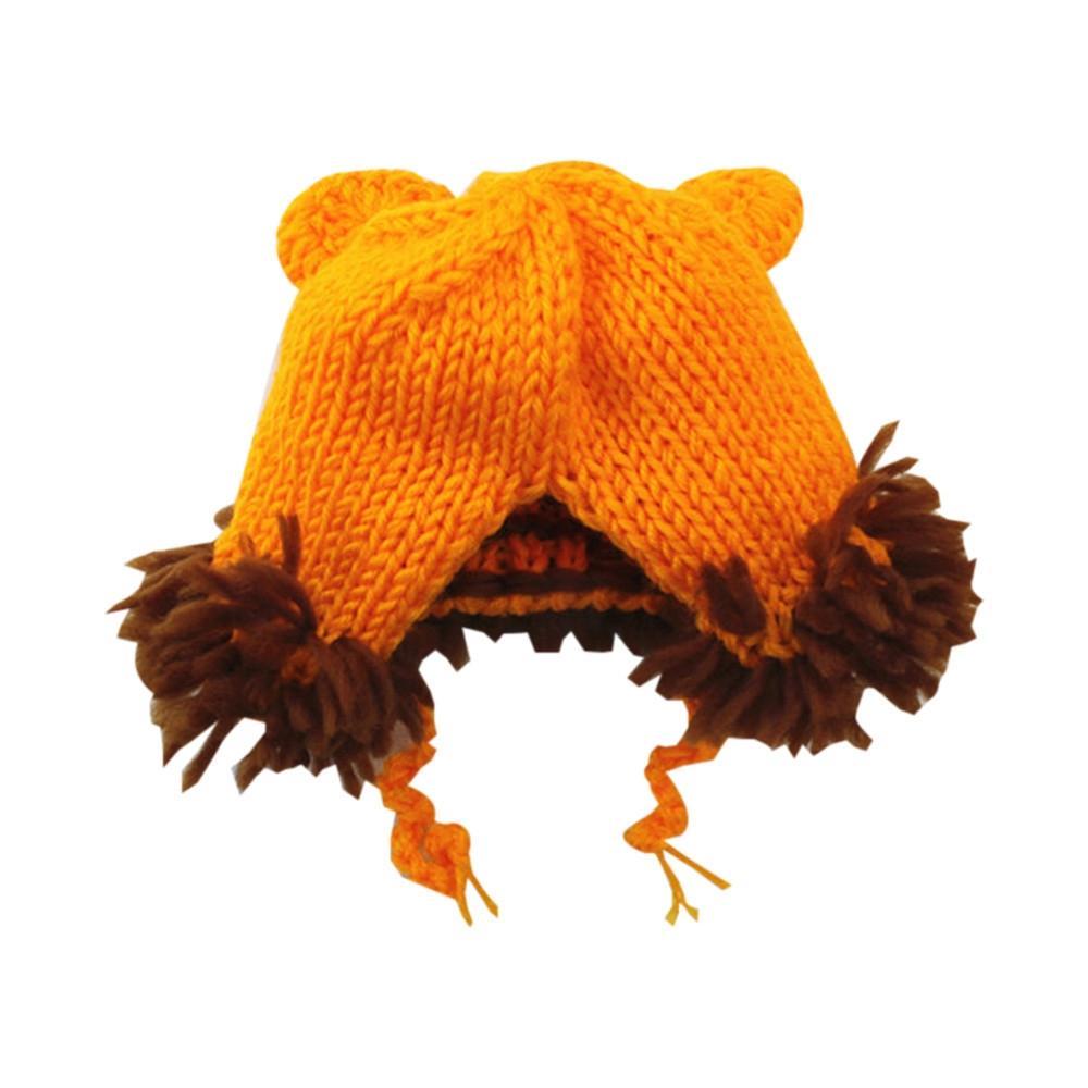 05b39f04d Generic Hiaojbk Store Newborn Baby Lion Set Cartoon Costume Knitted ...