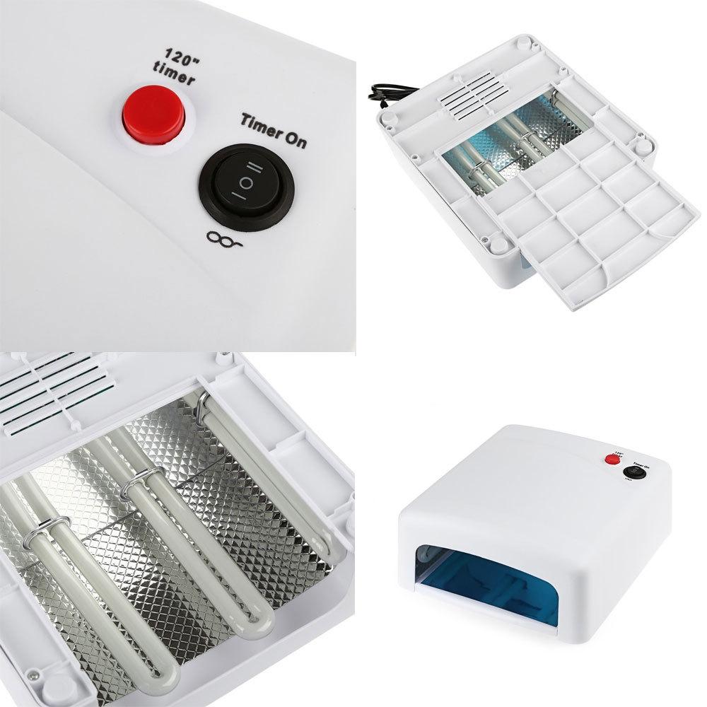 36W UV Lamp 240V Gel Nail Dryer