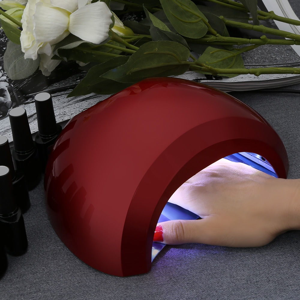 48W Professional Manicure Tool LED / UV Automatic Induction Nail Gel Lamp