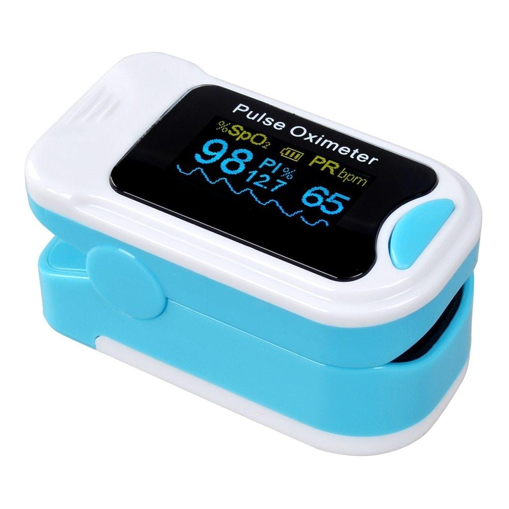 Generic Portable Finger Pulse Oximeter Case Digital Oximetro
