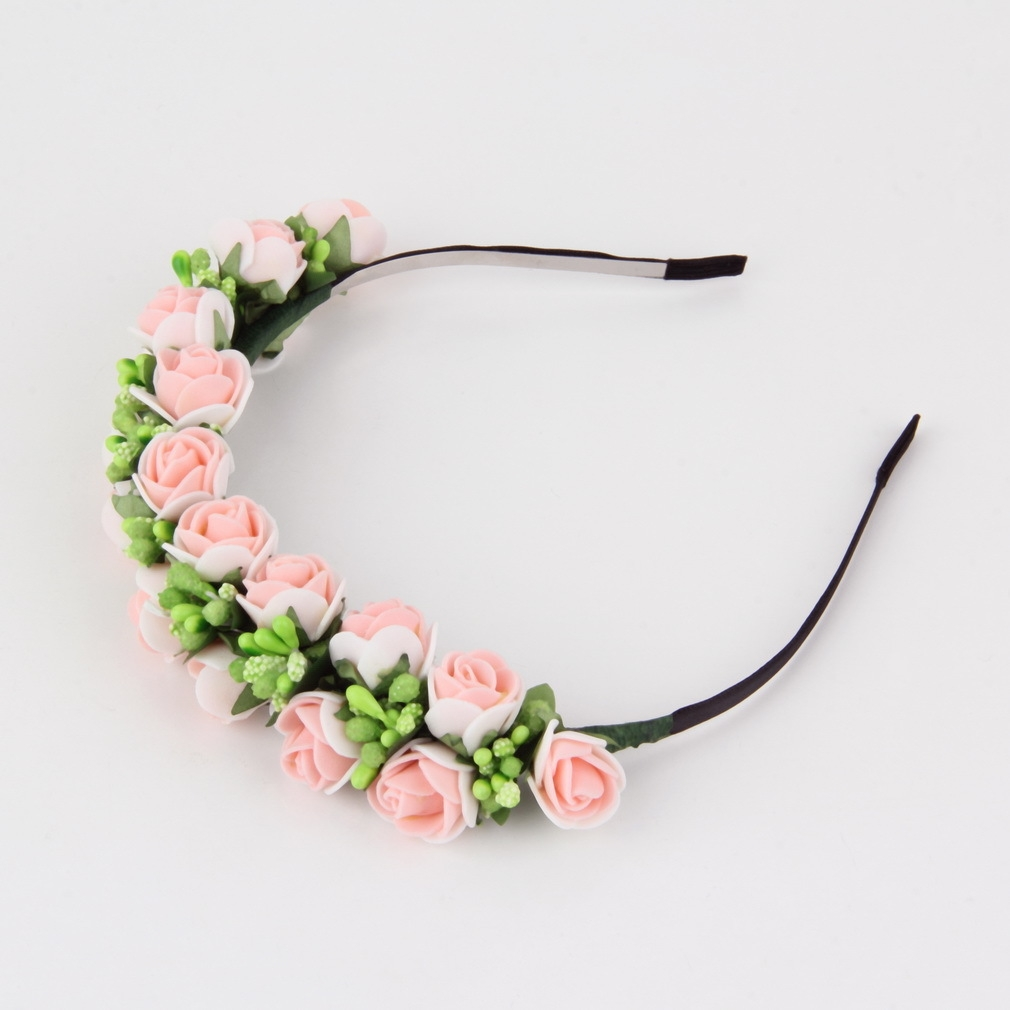 allwin flower garland floral bridal headband hairband wedding prom