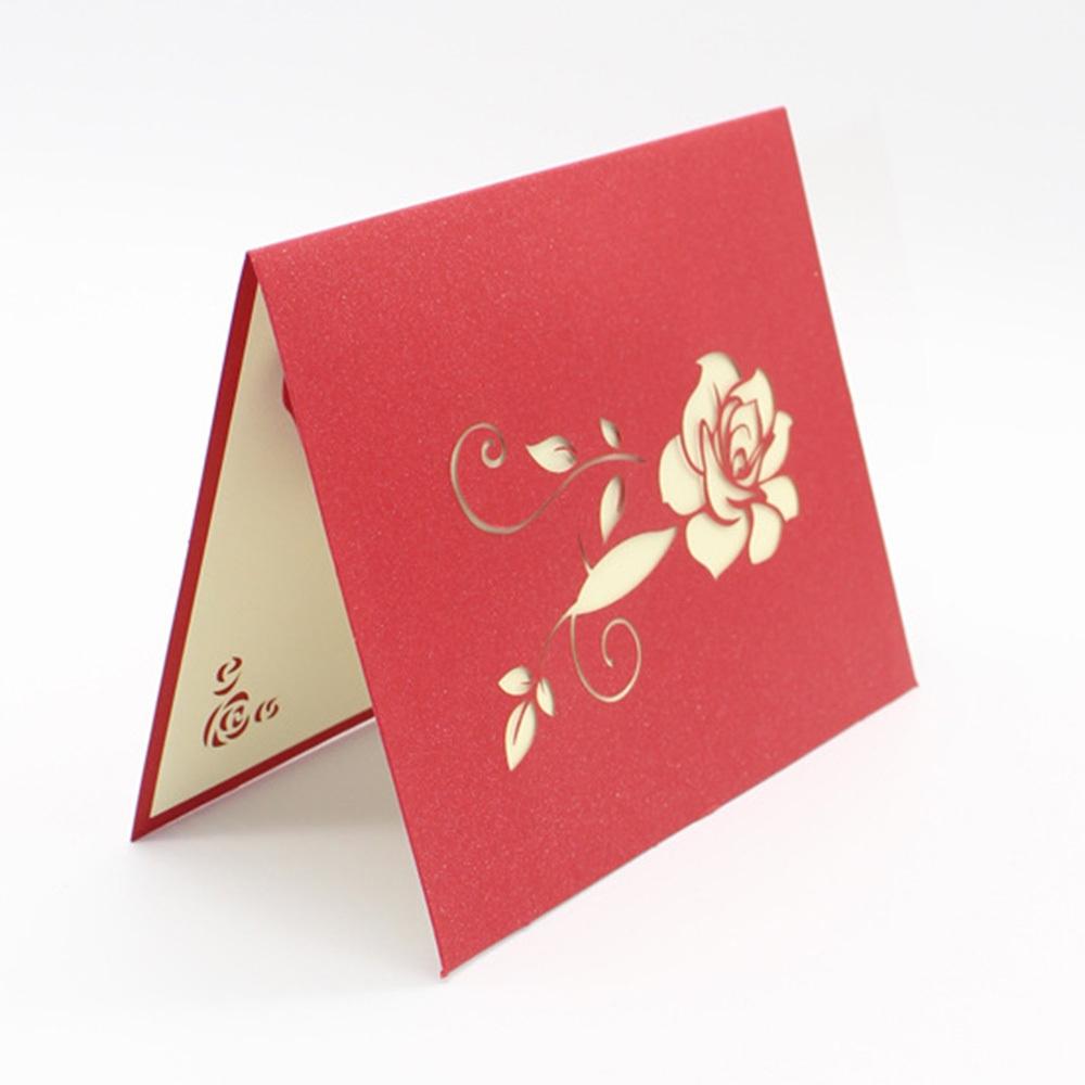 Buy Generic Paper Cuttings Craft 3d Greeting Card Romantic Colorful