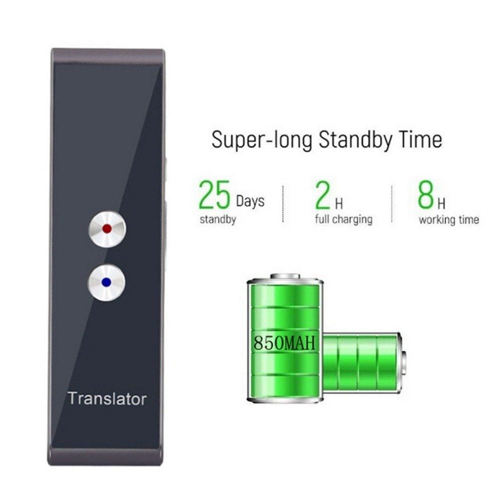 Generic Smart Speech Translator Portable Two-Way Real Time 30 Multi