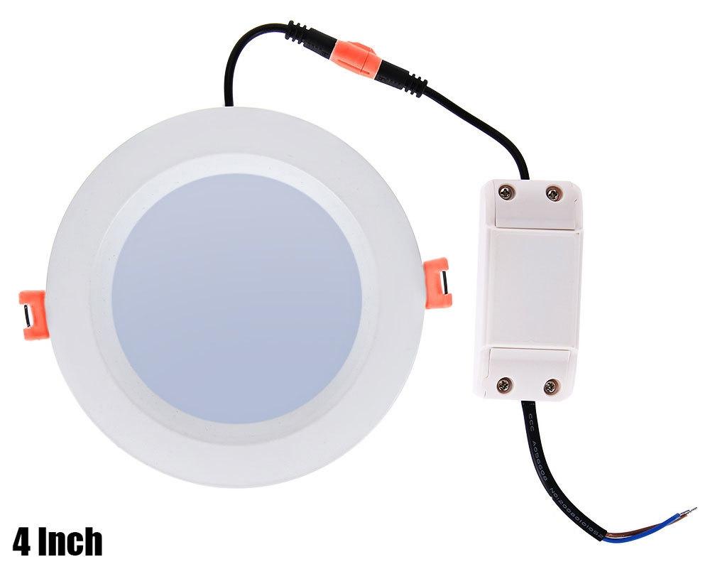 Lightme 4 Inch 2700 - 3000K 12W 1000 - 1200LM SMD2835 LED Down Light Energy Efficient Lighting