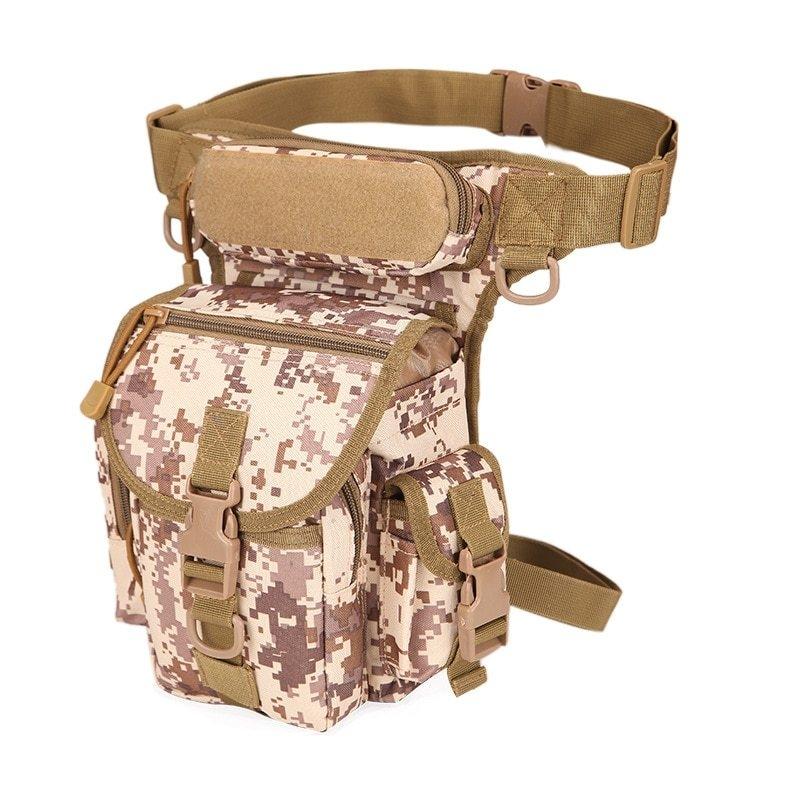 2Military-Tactical-Drop-Leg-Bag-Tool-Fanny-Thigh-Pack-Hunting-Bag-Waist-Pack-Motorcycle-Riding-Men