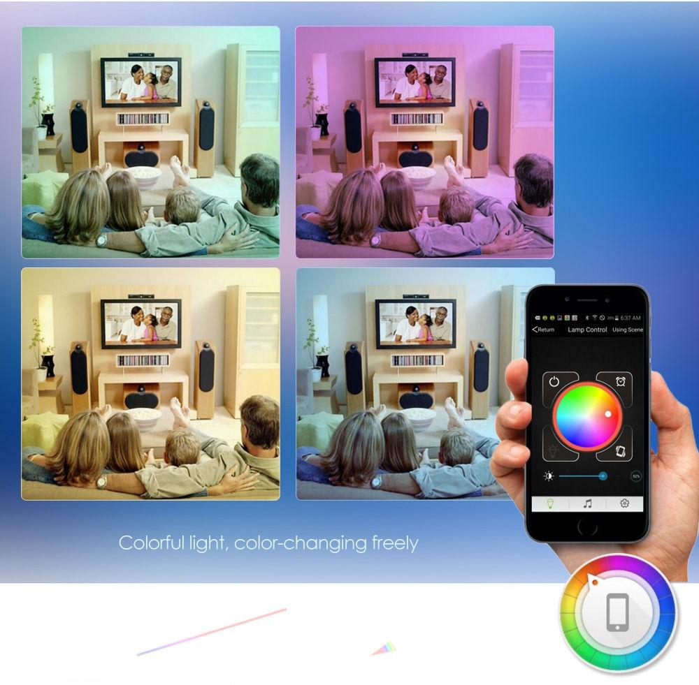 YouOKLight AC 100 - 240V E27 6W Bluetooth 4.0 Smart LED Bulb Light