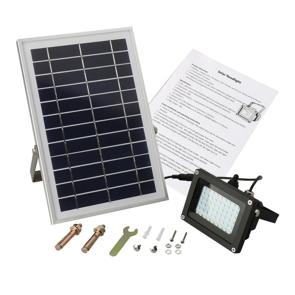 Generic Solar Lights Solar Powered Floodlight Outdoor