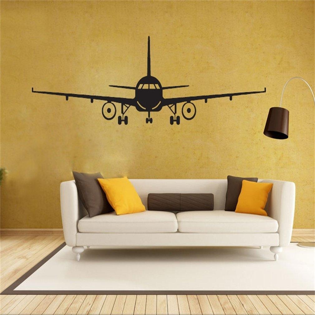 Buy Generic Airplane Wall Sticker Children Boys Bedroom Living Room ...