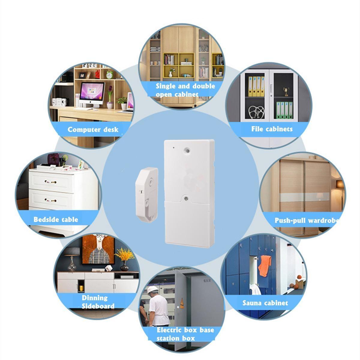 Buy Generic Bluetooth Electronic Cabinet Drawer Lock Hidden Digital Download Image Double Sink Vanity Plumbing Diagram Pc Android Iphone