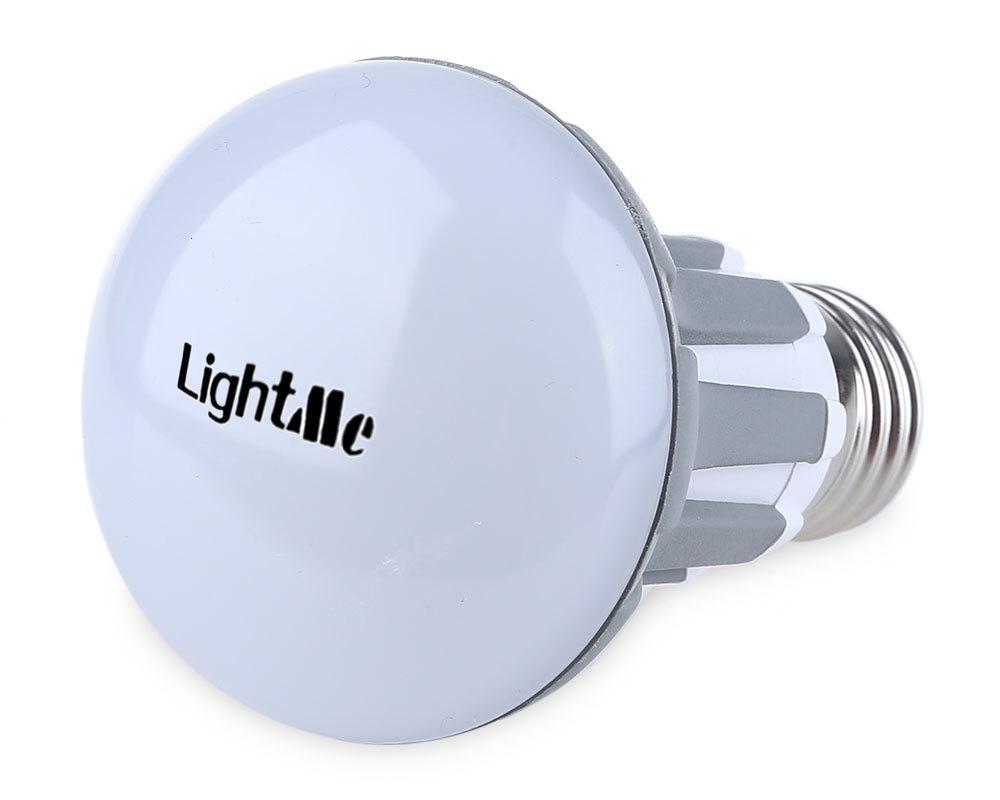 Lightme 3Pcs E27 220-240V R63 5W LED Bulb SMD 2835 Spot Globe Lamps Energy Efficient Lighting