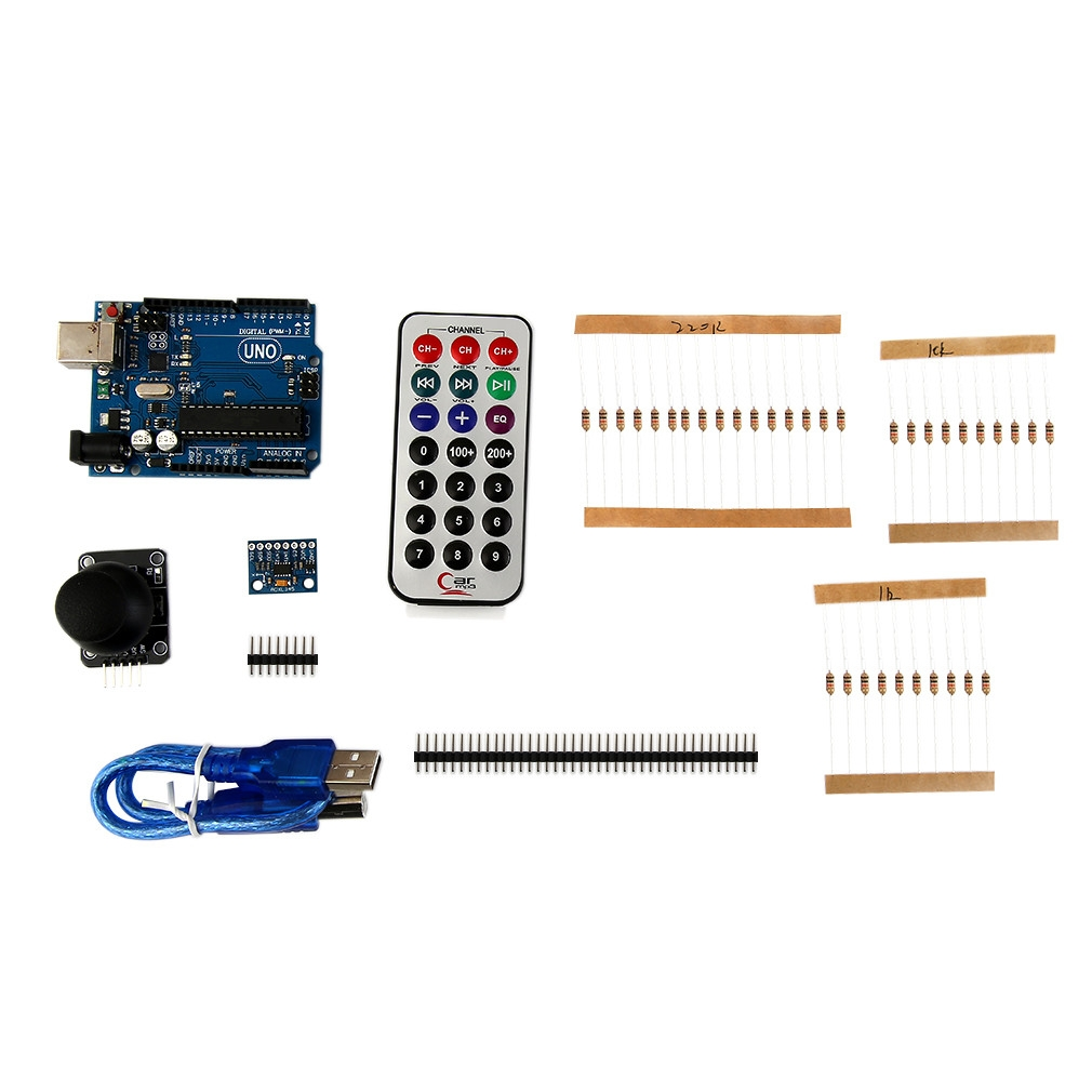 Buy Generic Diy Starter Learning Kit Suitable For Arduino Mega 2560 Circuit Measuring Temperature Using A Thermistor And The Board Is Complete Clone Uno R3 With Some Interesting Electronic Modules You Can Gain Interest From Process