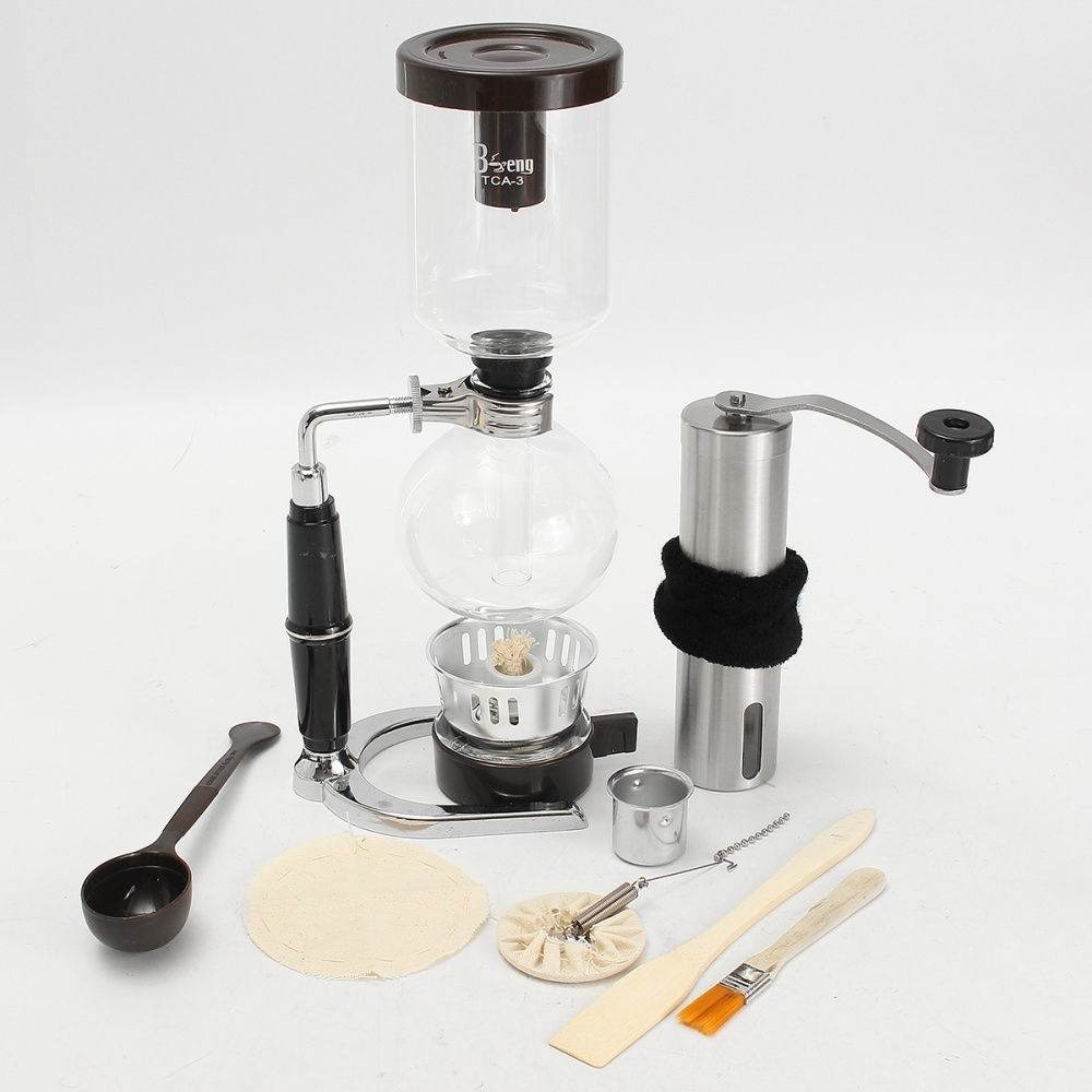 Buy Generic French Press Filters Coffee Maker Siphon Pot Stainless Syphon Electric 1 X Manual Steel Grinder 2 Instruction In English